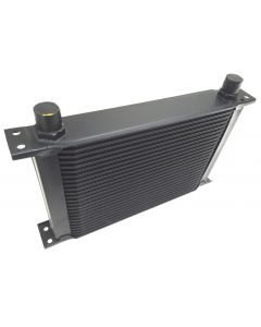 Cooling Pro Oil Cooler -15 Row Hw Black - 10 Outlets (285x110Core Size)