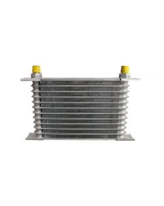Cooling Pro Oil Cooler Greddy Style - 12 Row Light Weight -6 Outlets (250x160 Core Size)