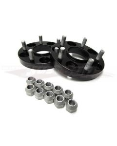 JJR 25mm Bolt-on Wheel Spacers - M12 x P1.25 (5 x 100) 56.1mm