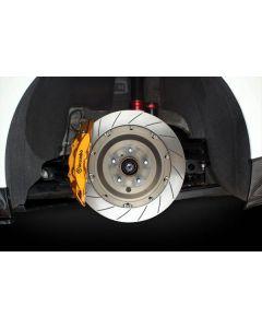 Mines Big Brake Rotor Kit - Nissan R35 GTR (Rear)