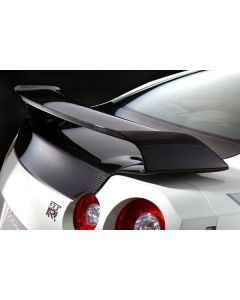 Mines Dry Carbon Rear Wing - Nissan R35 GTR