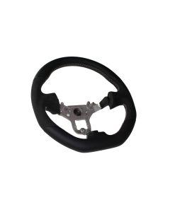 Mines Original Leather Steering Wheel (Grey Stitching) - Nissan R34 GTR