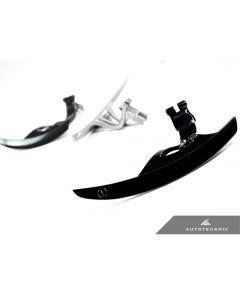 Autotecknic - Competition Steering Shift Levers Paddles - Nissan R35 GTR / G37 / 370Z - Gloss Black