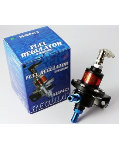 Sard Fuel Pressure Regulator - Black