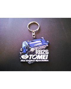 Tomei Silicone Rubber Key Chain - RB26DETT