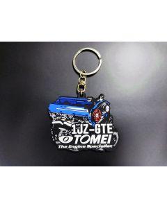 Tomei Silicone Rubber Key Chain - 1JZ-GTE