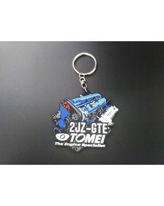 Tomei Silicone Rubber Key Chain - 2JZ-GTE
