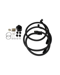 Cooling Pro Engine Oil Cooler Kit - Universal Fitment (3/4UNF-16 & M20-P1.5)