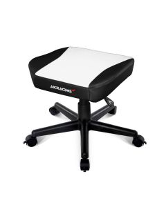 AKRACING FOOTSTOOL - WHITE