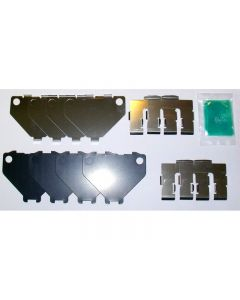Genuine Nissan Rear Brake Caliper Pad Hardware / Shim Kit - Nissan 300ZX Z32 Skyline R32 GTR GTS-4