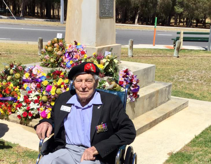 Memories of WWII with gunner Bill Cork
