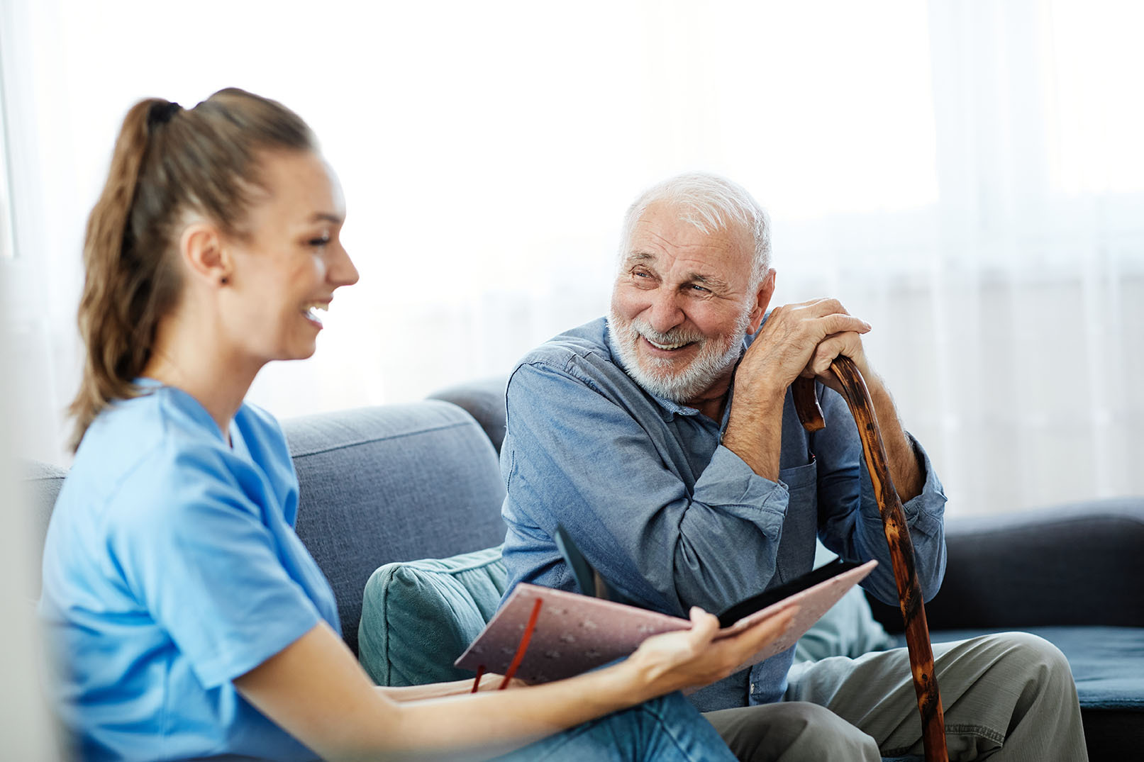 Amana Living nursing homes provide permanent accommodation and 24-hour care and services for those who are no longer able to live in their own home