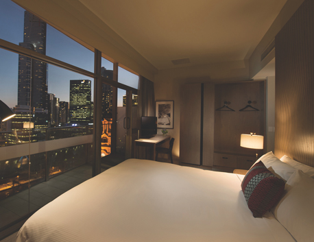 Stay in the heart of Melbourne