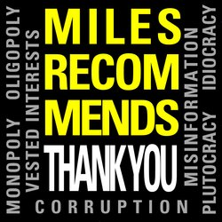 Miles Recommeds  - Thank You