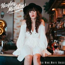 Hayley Marsten - Red Wine, White Dress - Internet Download