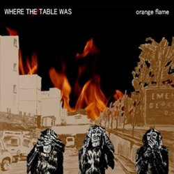 where the table was - sun is burning