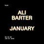 Ali Barter  - January
