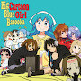 Big Blue Bazooka - Cartoon Girl
