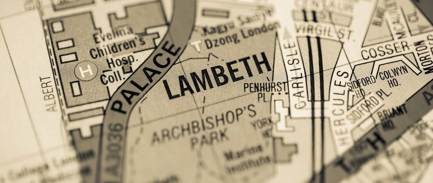 06 Feature Lambeth Conferences I have known IMAGE Lambeth Palace map