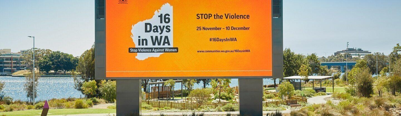 16 Days in WA violence women archbishop
