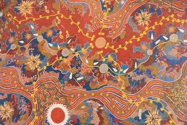 Aboriginal art hero