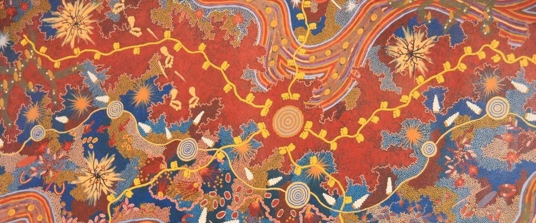 Aboriginal artwork homepage banner