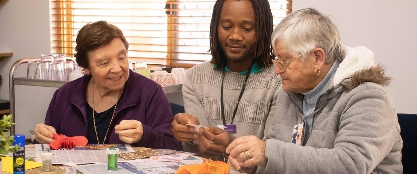 Amana Living aged care carer elderly women hero
