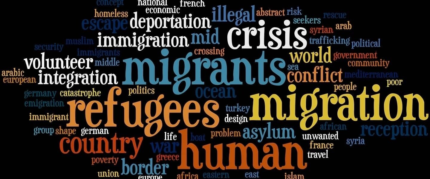 Refugee Words banner