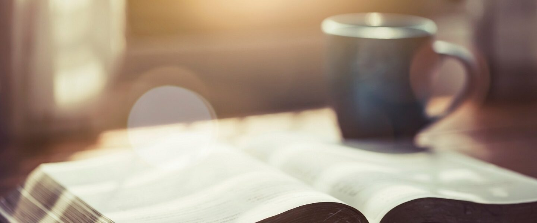 Bible cup coffee hero