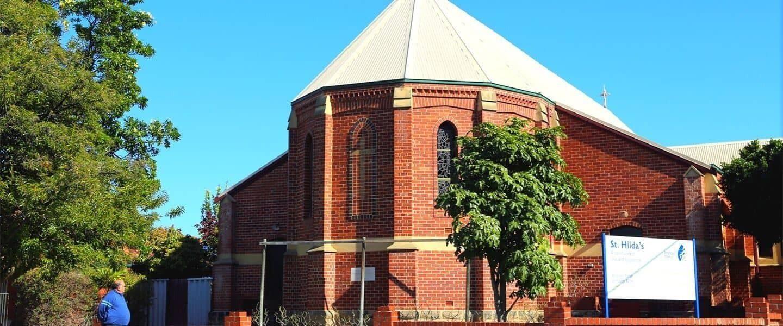 St Hildas Church North Perth hero