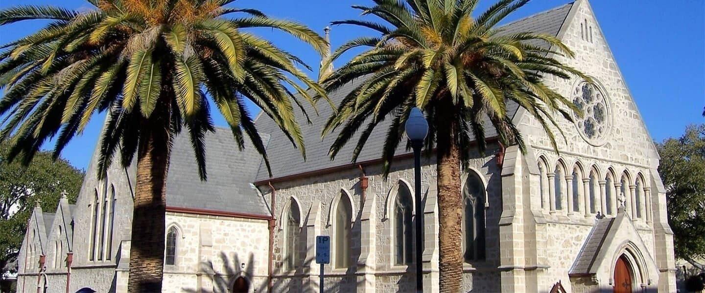 St John Church Fremantle hero