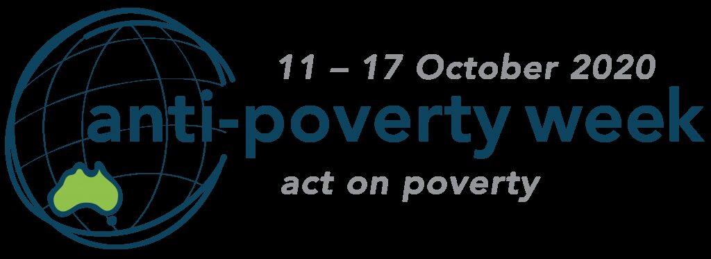 Anti poverty week logo