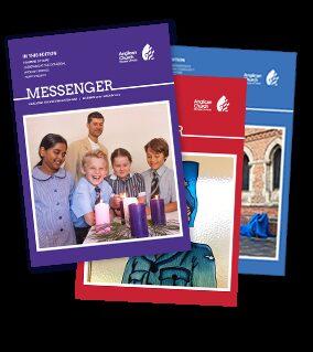 Messenger Magazine Covers