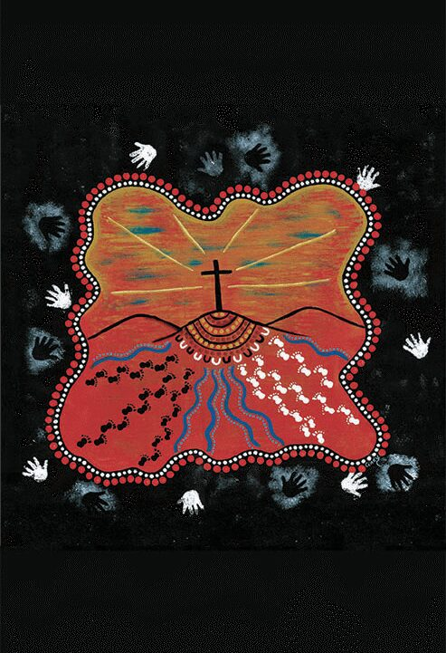 Reconciliation Painting Artist Cindy Alsop