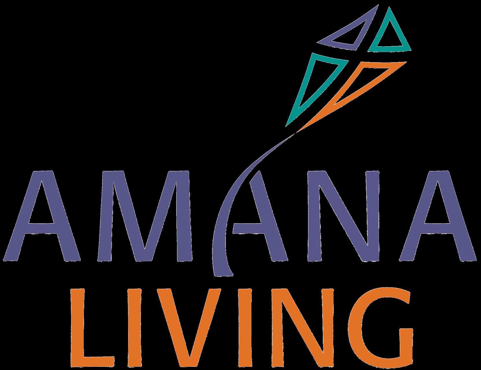 Amana Living CMYK logo no tag