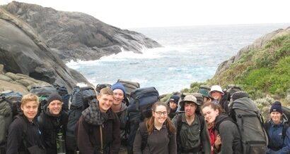 Bunbury Cathedral Grammar School Year 10 Camp Hiking