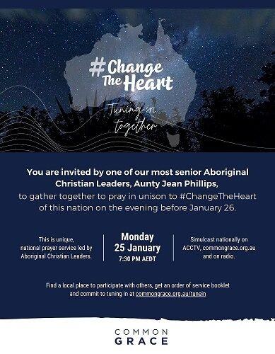 Change The Heart INVITATION 25 Jan 2021
