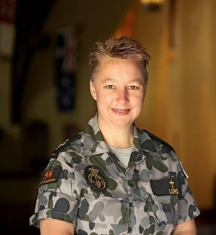 Chaplaincy Navy Kate Lord headshot image