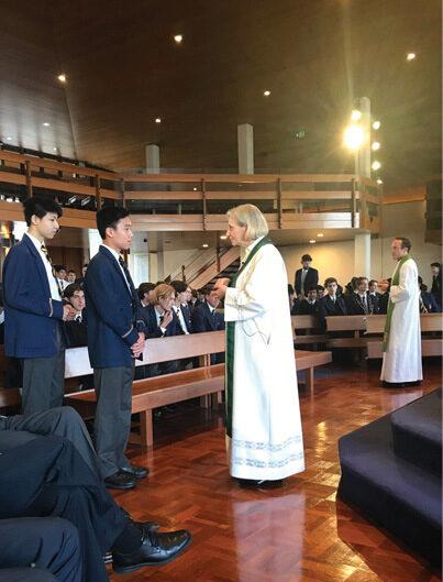 Archbishop's Day at Christ Church Grammar School