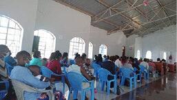 Eldoret Inside St Peters Kamagut the mother church of the parish