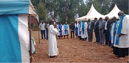 Eldoret The blessing of the new Parish Council