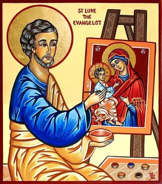 Icons St Luke image