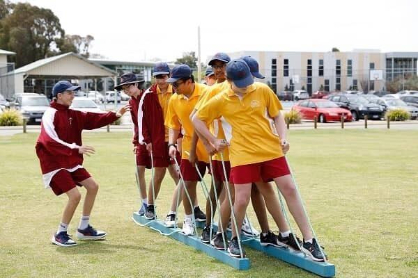 JSR Yr9 Camp Incursion student teamwork image