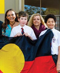 P25 John Septimus Road ACS IMAGE aboriginalflaggiving