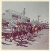Mandigarra Guides Geraldton Aboriginal girl guides group Sunshine Parade Geraldton