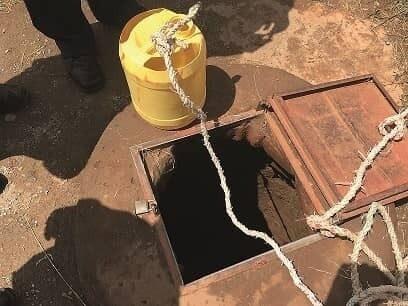 PIM Eldoret Contaminated school well image