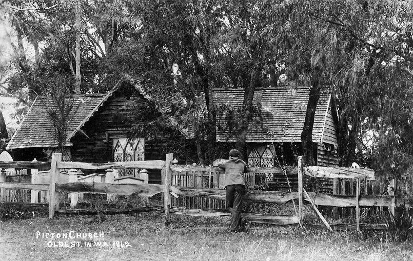 Picton Church Postcard