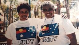 Reconciliation week Bard Gija women Jennifer Kniveton and Kathleen Gregory