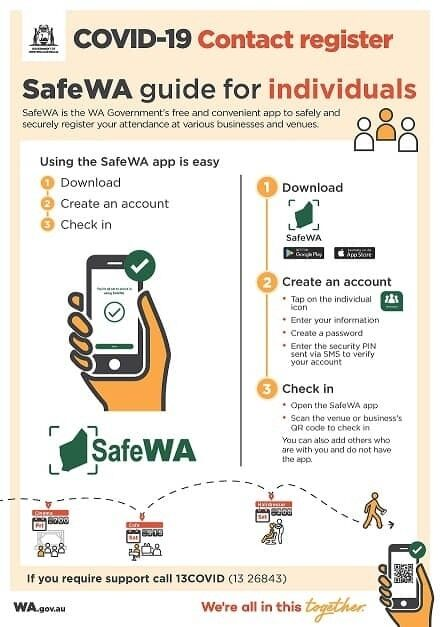 Safe WA How to Guide for Individuals 1