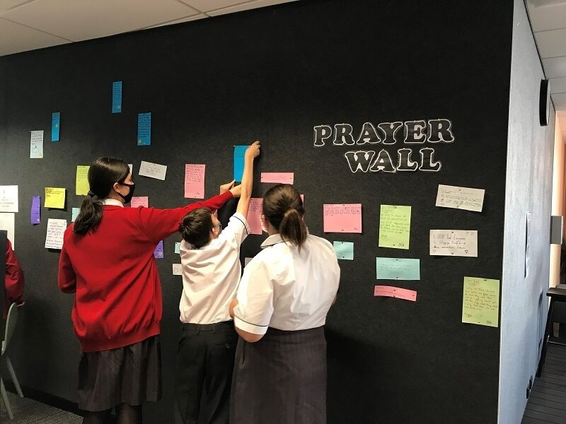 St Georges AGS Prayer Wall image